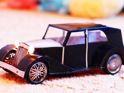 How to make a car out of paper -ROLLS ROYCE PHANTOM III