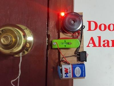 How to Make a Door Alarm | DIY home security alarm