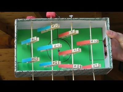 How to Make a Foosball (awesome ideas)