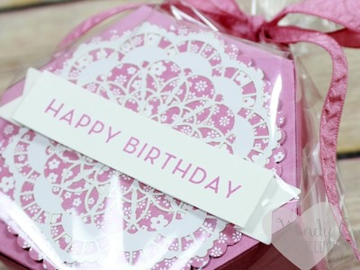 How To Make A Fun Birthday Box feat. Window Shopping from Stampin' UP!