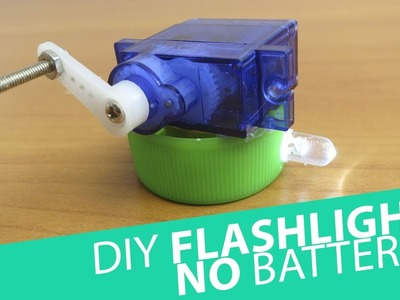 How to Make a LED Flashlight With NO Batteries