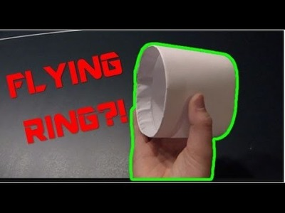 HOW TO MAKE A PAPER AIRPLANE RING! (EASY) (Part 10)