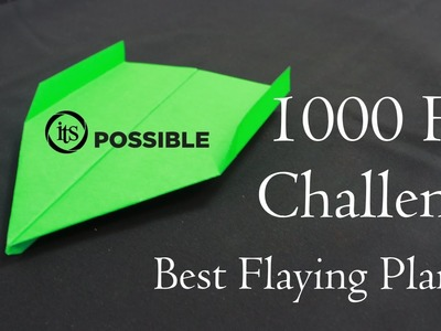 How to make a Paper Airplane - BEST Paper Planes in the World -That Fly 10000 Feet (Creative X)