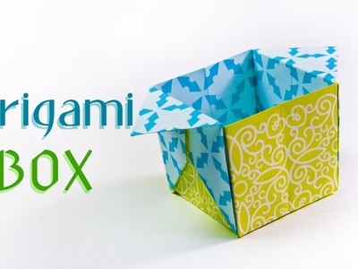 How to make a  paper Box | DIY origami Box ????