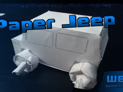 How to Make a Paper Jeep