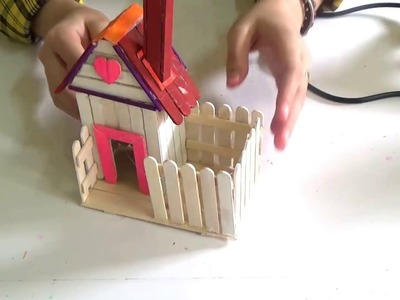 How to Make a Popsicle Stick House for Kids