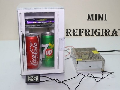 How To  Make A Portable Mini Refrigerator