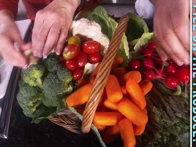 How to Make a Veggie Basket v2
