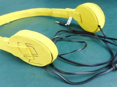 How To make Headphone At Home | Make Easily With Free of Cost