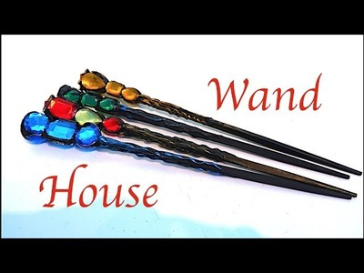 How to Make House Wands!!!