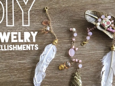 How to make Jewelry Embellishments | Planner Accessories | Planner Embellishments