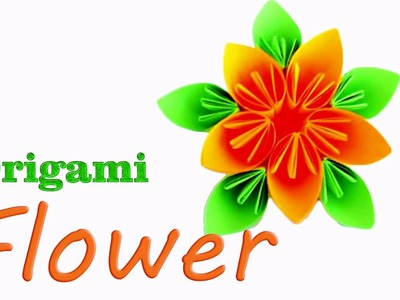How to make Origami Flower  Origami for Beginners
