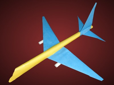 How to Make Paper Airbus Like Boeing 777 Airplane
