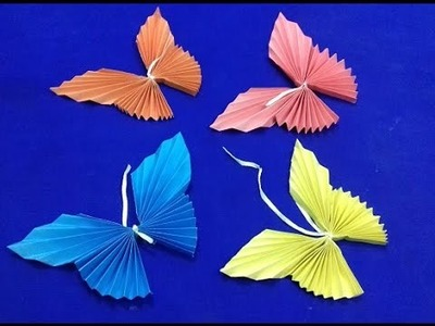 How To Make Paper Butterfly - Easy Paper Butterfly Origami ( NEW)