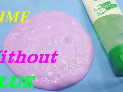 How to make slime Without Glue Okay Easy !! DIY Slime No Glue