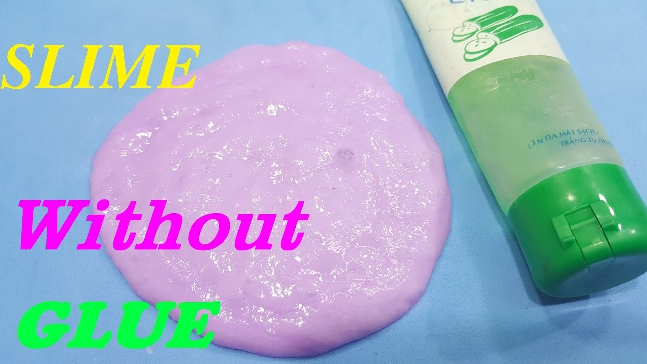 How to make slime without glue okay easy diy slime no glue ccuart Gallery