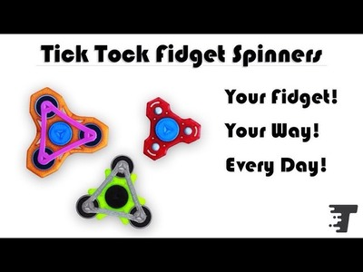 HOW TO SPIN THE FIDGET SPINNER QUICKLY WITH 1 HAND