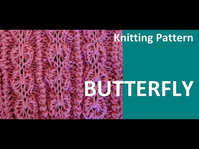 Knitting Pattern * BUTTERFLY *, My Crafts and DIY Projects