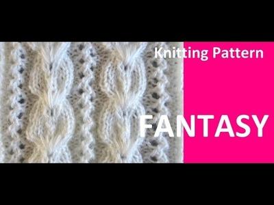 Knitting Pattern ** FANTASY  **