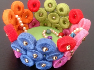Learn to make Paper Basket with sweet sound of bells