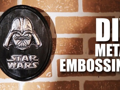 Mad Stuff With Rob - DIY Metal Embossing feat. Daniel Fernandes | Star Wars Special