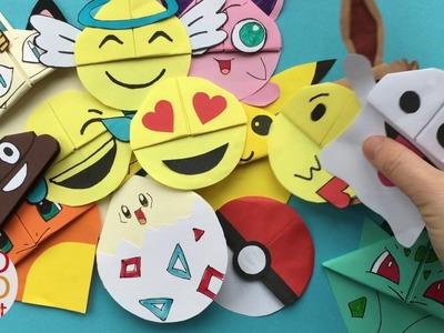 My 75+ Corner Bookmark Collection - MUST SEE Bookmark DIYs - DIY Kawaii Bookmarks & More