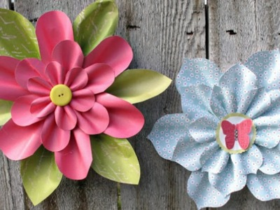 Origami Flower - How To Make Paper Flower Easily  -  Origami flower tutorial