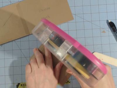 Paper bag.Envelope Mini Album Tutorial | Part -2 Envelopes
