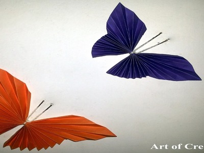 Paper Butterfly Easy Origami Origami for Beginners
