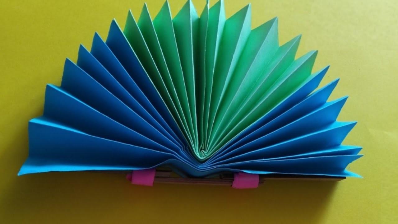 Paper Fan How To Make An Origami Fan Making A Paper Hand Fan