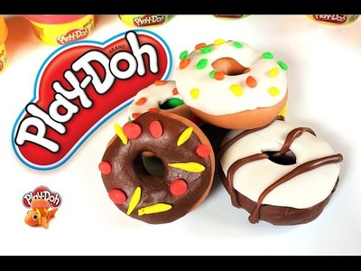Play Doh | Play & Learn How to Make Donut , Chocolate Donut