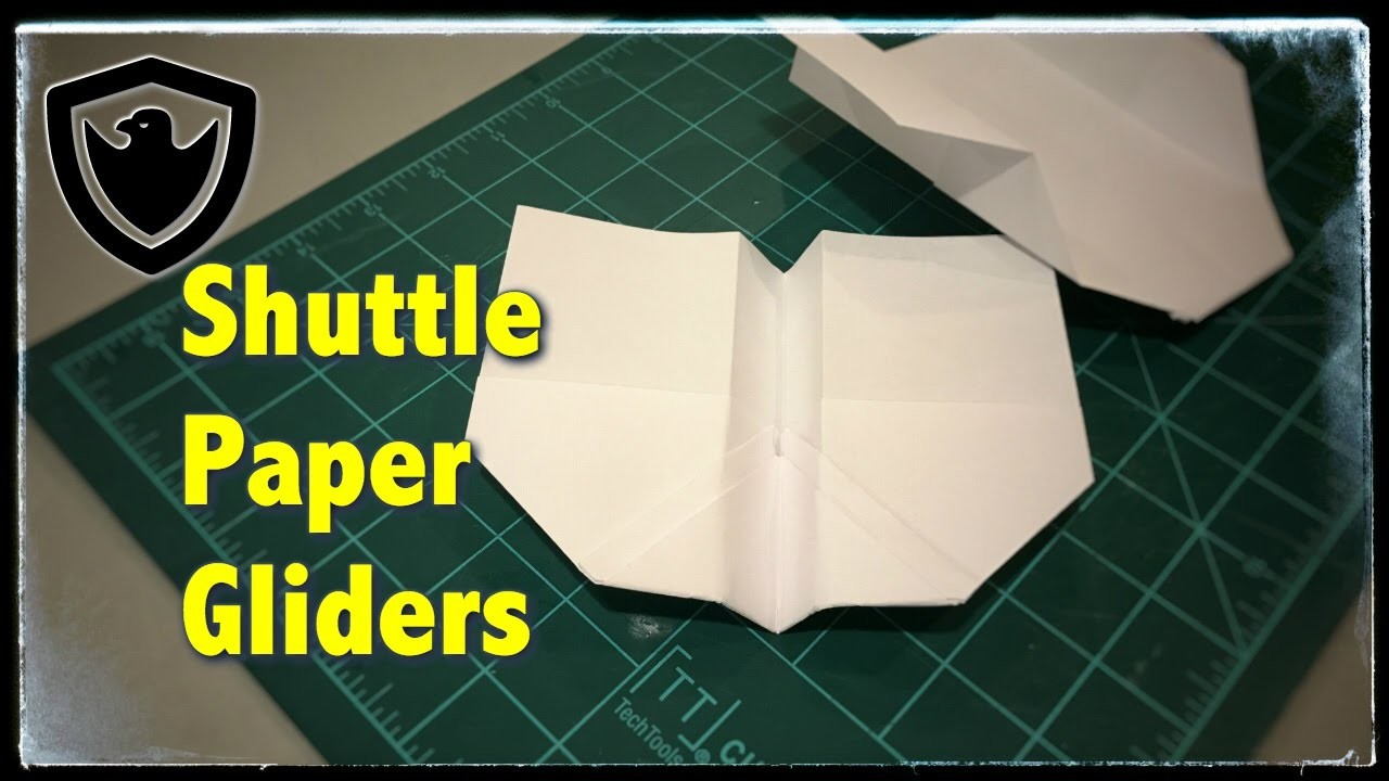 how to make a papaer glider