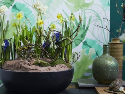 Spring bulb flower arrangement Bloomtube Floral Inspiration How to make tutorial