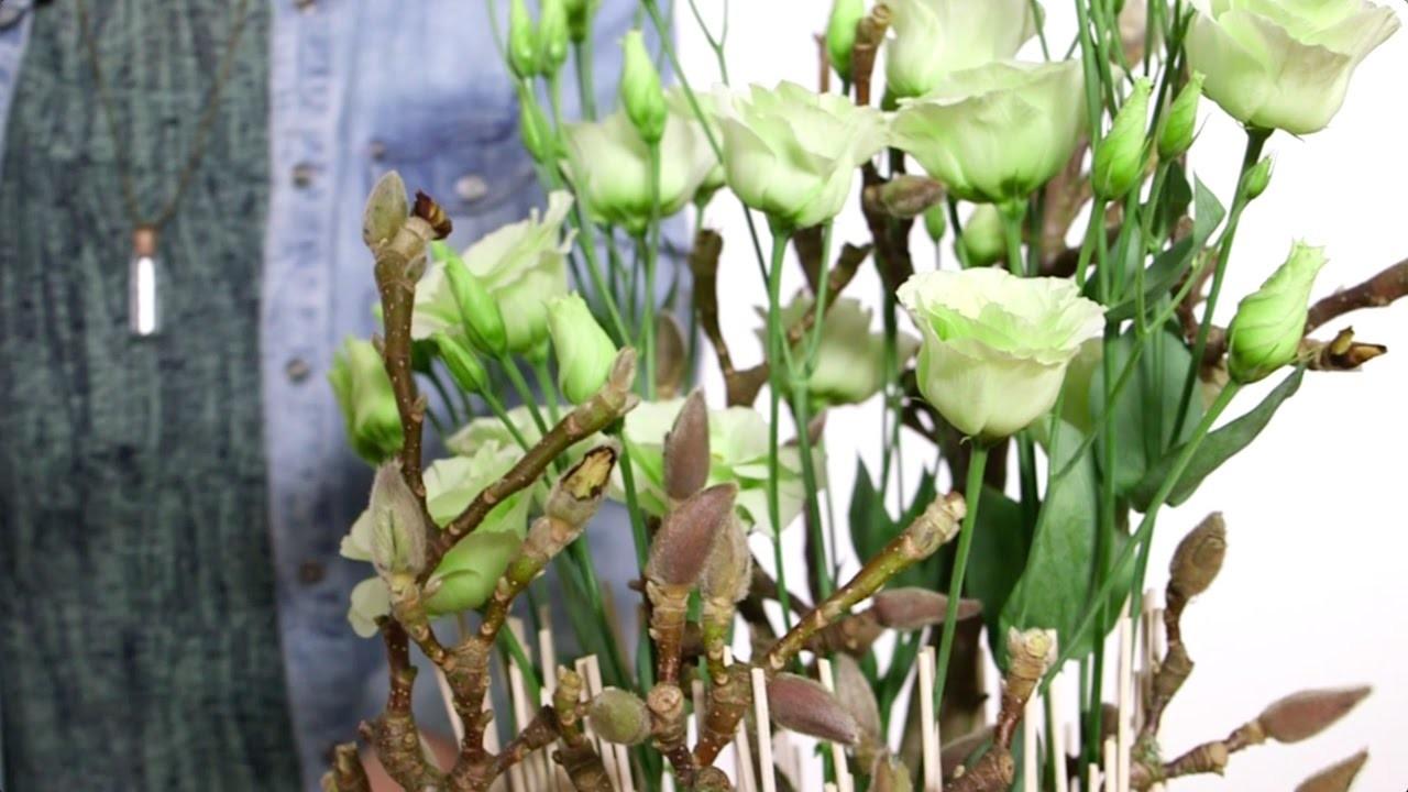 Spring elegance by Nelleke Bontje | Flower Factor How to Make | Powered by Van der Lugt Lisianthus