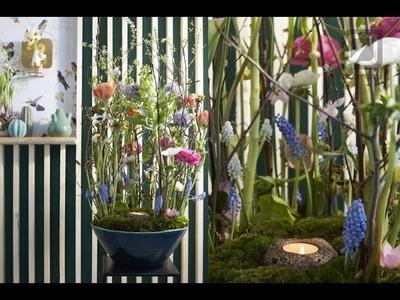 Spring flower arrangement Bloomtube Floral Inspiration How to make tutorial