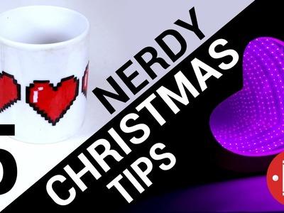 5 Quick & Nerdy Christmas Tips || DIY