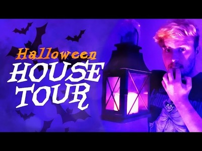 A Halloween Tour Of My House!