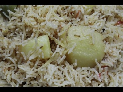 AALOO KI TAHARI   ||   HOW TO MAKE POTATO WITH RICE