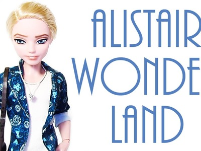 Alistair Wonderland Doll Repaint [EVER AFTER HIGH]
