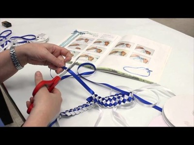 Crankin' Out Crafts-ep467 Braided Ribbon Lei