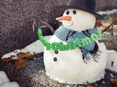 Create a Cute Snowman in Blender