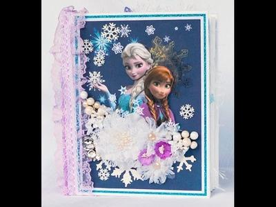 Disney Frozen Mini Album J&S Hobbies and Crafts Design Team Project