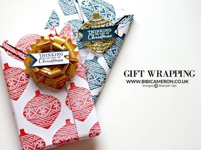 Easy  origami gift wrapping