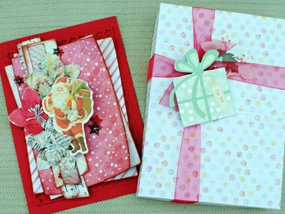Gift Boxes for Layered Cards with Delaina Burns on Live with Prima