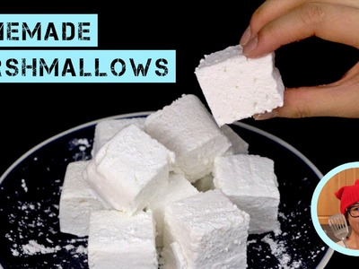Homemade Marshmallows (No Corn Syrup, No Thermometer!)
