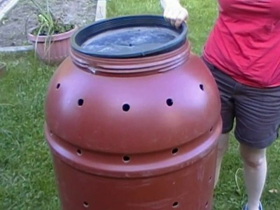 How To Build a Rolling Composter for CHEAP