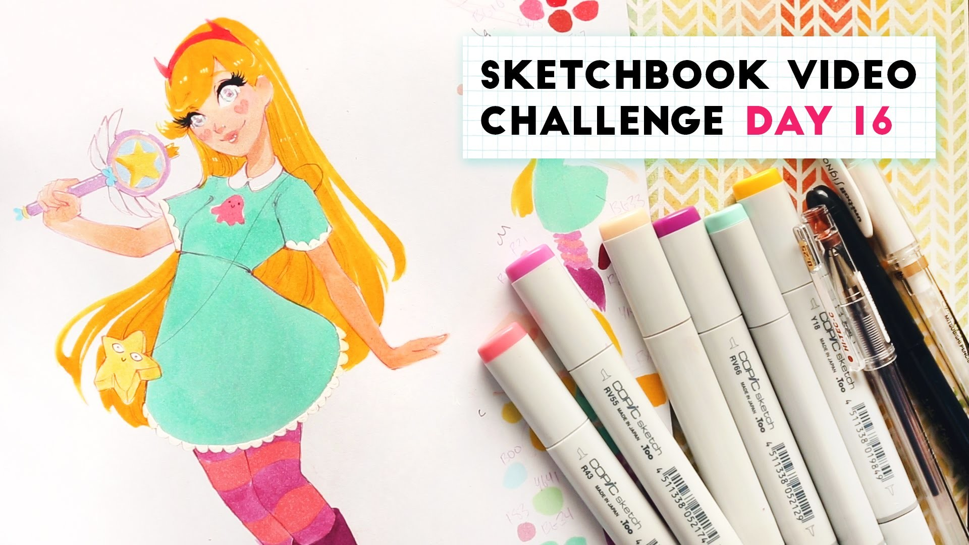 How to Decide What to Draw | Sketchbook Video Challenge: DAY 16