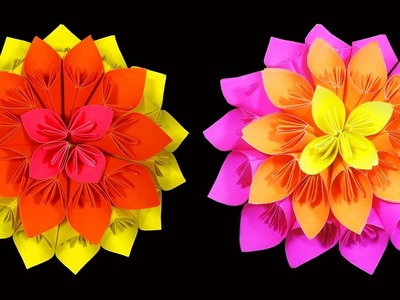 How to Make A Beautiful Kusudama Flower : HD