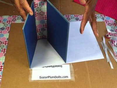 How to Make a Book Purse part 1