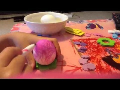 How to make an easter egg without food coloring?